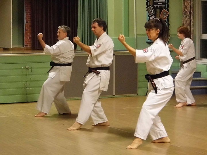 Instructors at Thanet and Canterbury Karate Club