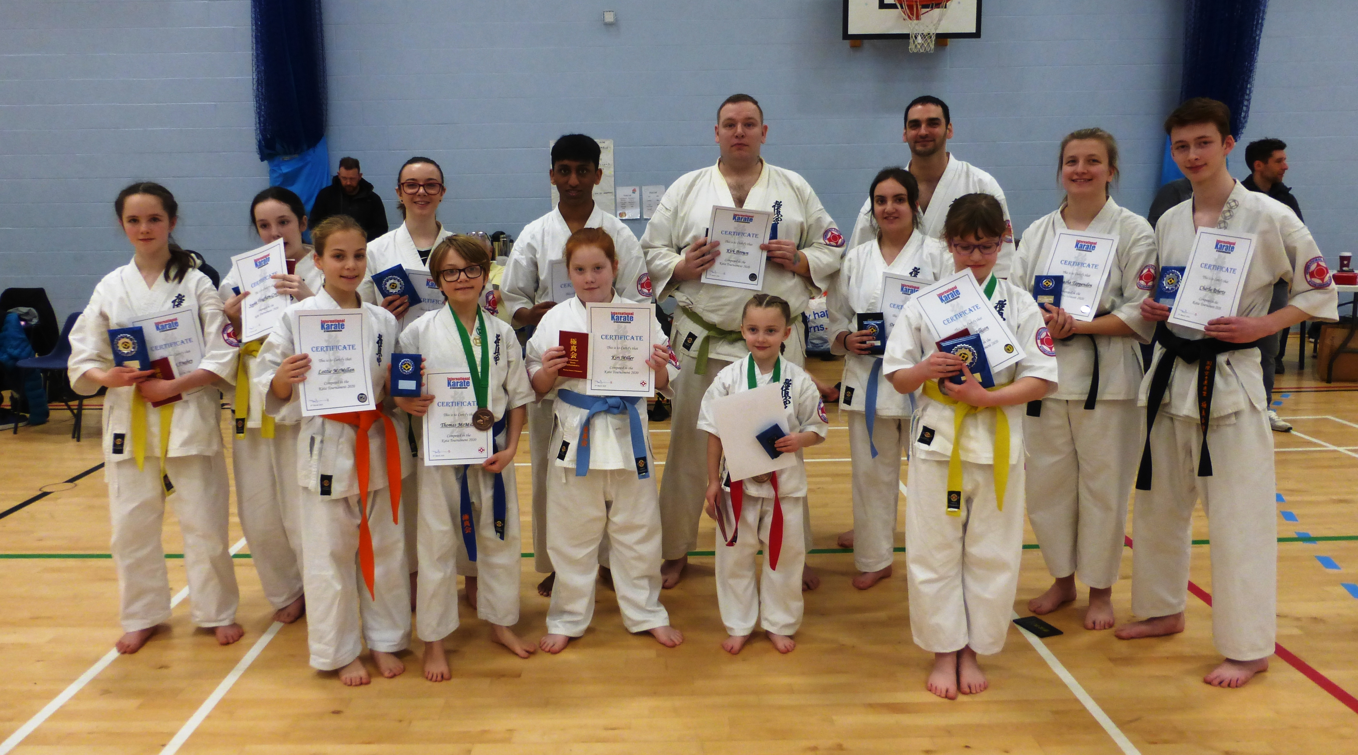 Karate East Kent Students