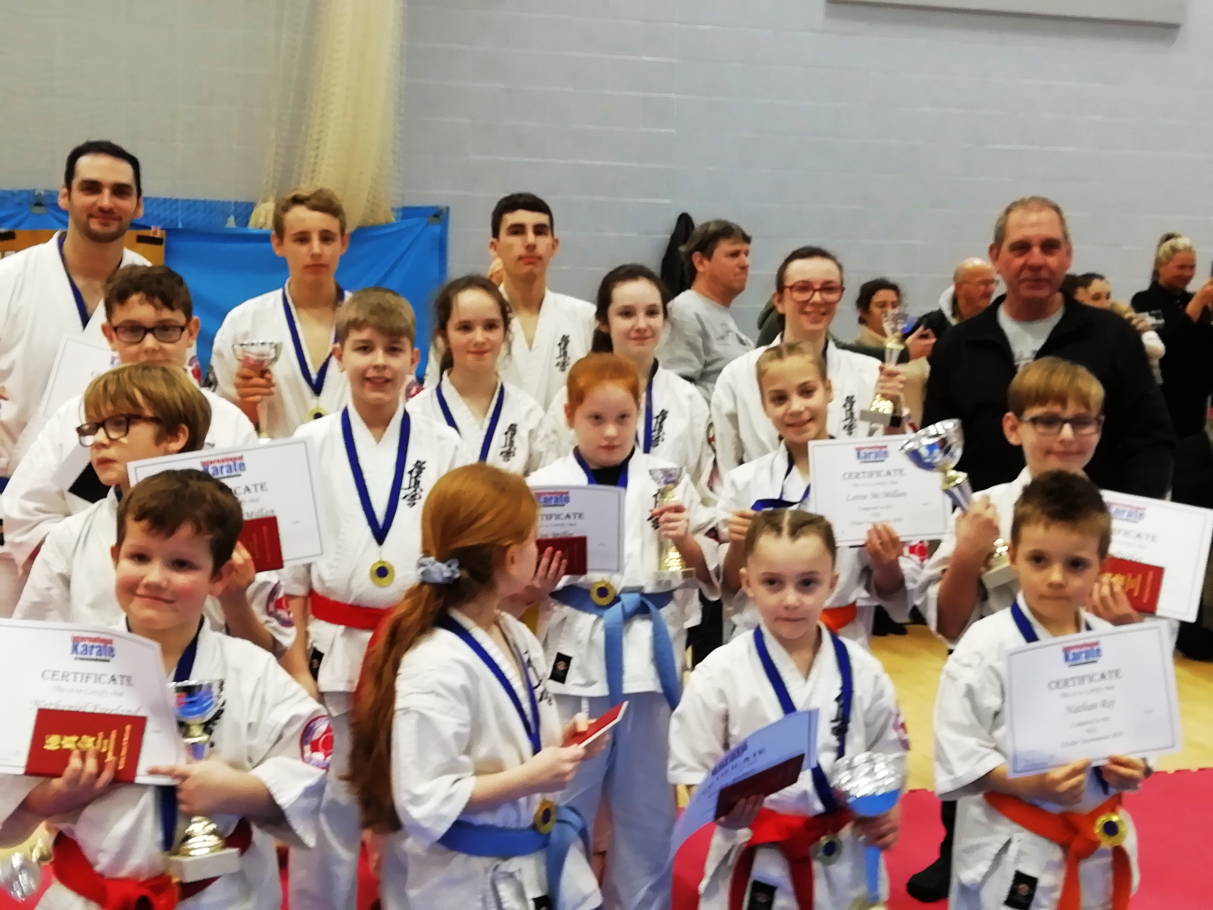 Lympne Karate Students