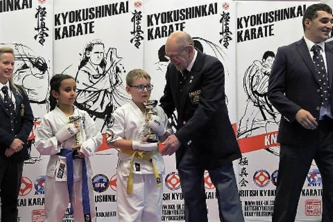 Thanet Karate Students